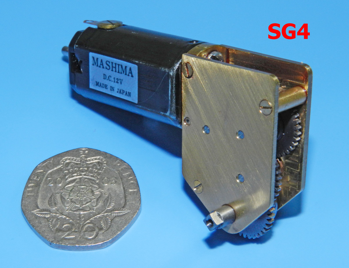 Slater's Plastikard - Small Gearbox/Motor (RG4 Replacement)