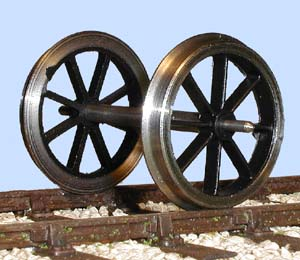 7mm Scale Coach Wheel Set